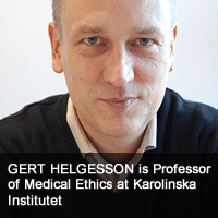 Gert Helgesson, Professor of Medical Ethics, Karolinska Institutet
